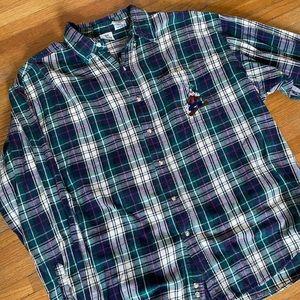 Disney Goofy Flannel Shirt